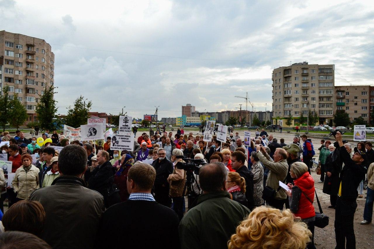 митинг против лвж 701 и сибросьпереработка